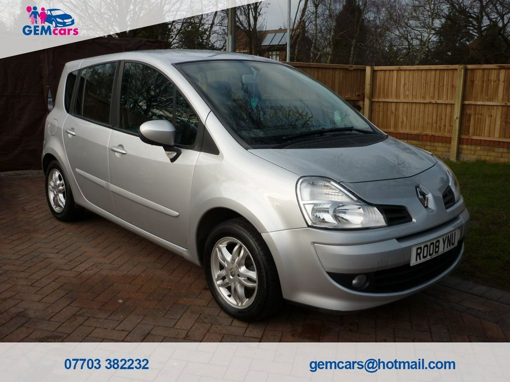 USED 2008 08 RENAULT GRAND MODUS 1.6 DYNAMIQUE VVT 5d 110 BHP GO TO OUR WEBSITE TO WATCH A FULL WALKROUND VIDEO