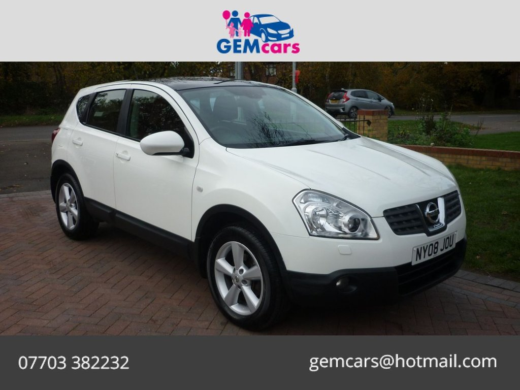 USED 2008 08 NISSAN QASHQAI 1.5 TEKNA DCI 5d 105 BHP HOME DELIVERY AVAILABLE