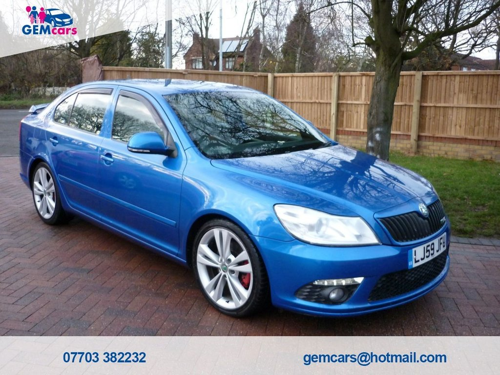 USED 2009 59 SKODA OCTAVIA  HATCH VRS 2.0 TDI GO TO OUR WEBSITE TO WATCH A FULL WALKROUND VIDEO