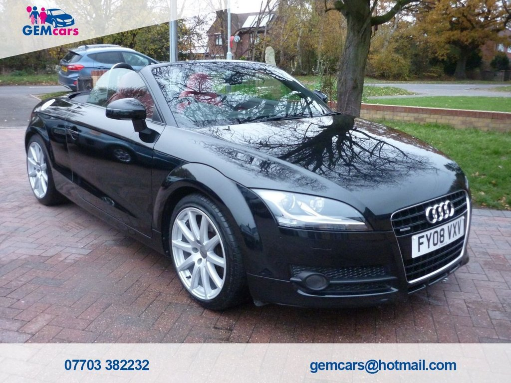 USED 2008 08 AUDI TT 3.2 QUATTRO S 2d 250 BHP FREE HOME DELIVERY AVAILABLE*