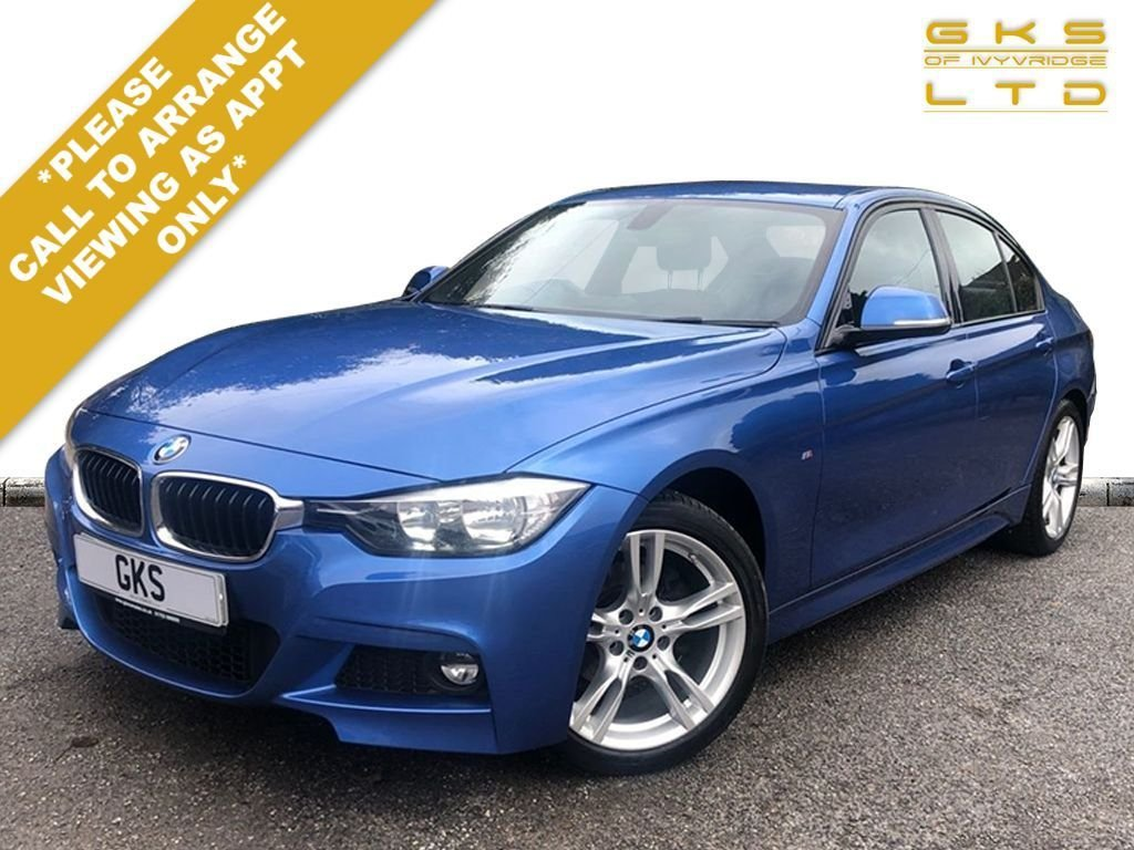 USED 2015 65 BMW 3 SERIES 2.0 318D M SPORT 4d 148 BHP ** NATIONWIDE DELIVERY AVAILABLE **