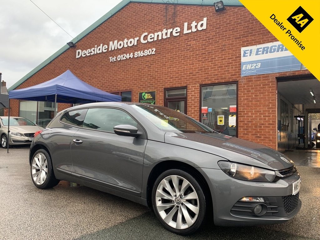 USED 2012 61 VOLKSWAGEN SCIROCCO 2.0 GT TDI BLUEMOTION TECHNOLOGY 2d 140 BHP Only £30 a year road tax   :   Full service history   :   Bluetooth   :   Full leather upholstery  : Heated front seats  :  Isofix fittings  :  Normal/Comfort/Sport settings  :  Rear parcel shelf