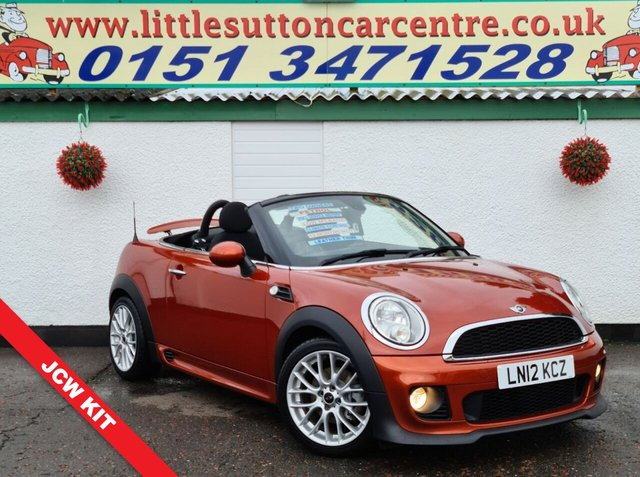 USED 2012 12 MINI ROADSTER 1.6 COOPER 2d 120 BHP FULL DEALER HISTORY, 47,000 MILES, 2 OWNERS, FINANCE AVAILABLE