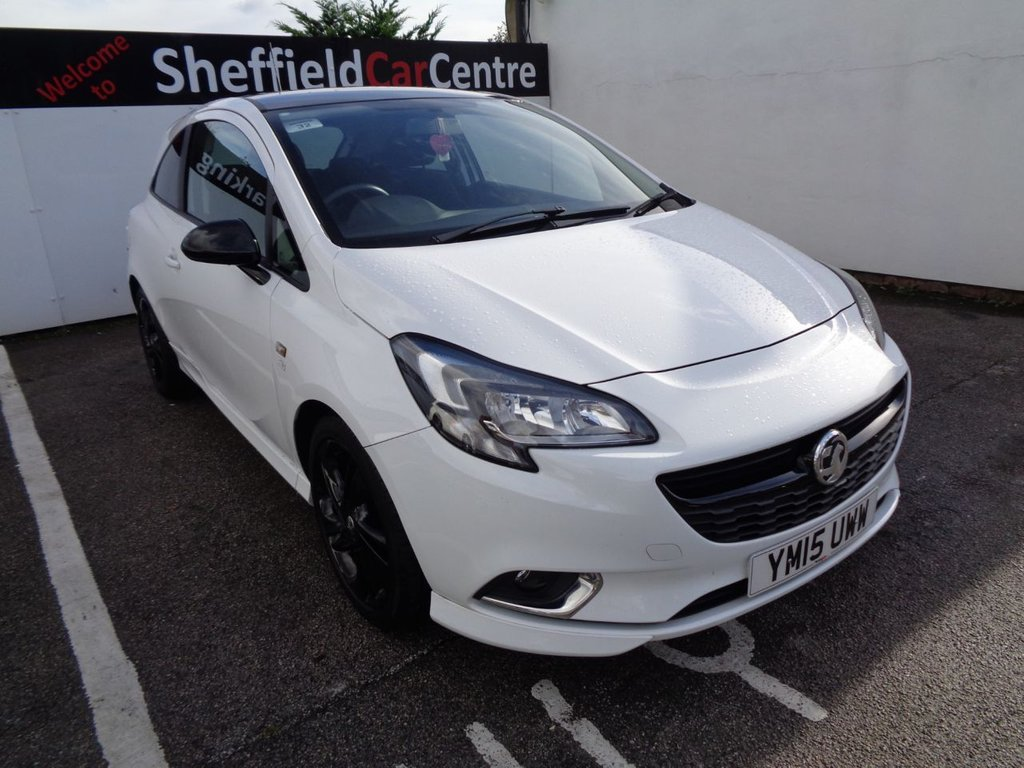 USED 2015 15 VAUXHALL CORSA 1.2 LIMITED EDITION 3d 69 BHP Sought after popular hatch  sought after colour  black alloy wheels to contrast white car  air conditioning  bluetooth