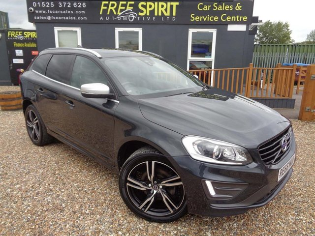 USED 2016 66 VOLVO XC60 2.4 D5 R-Design Lux Nav Geartronic AWD (s/s) 5dr Nav, F&R Sensors, Leather
