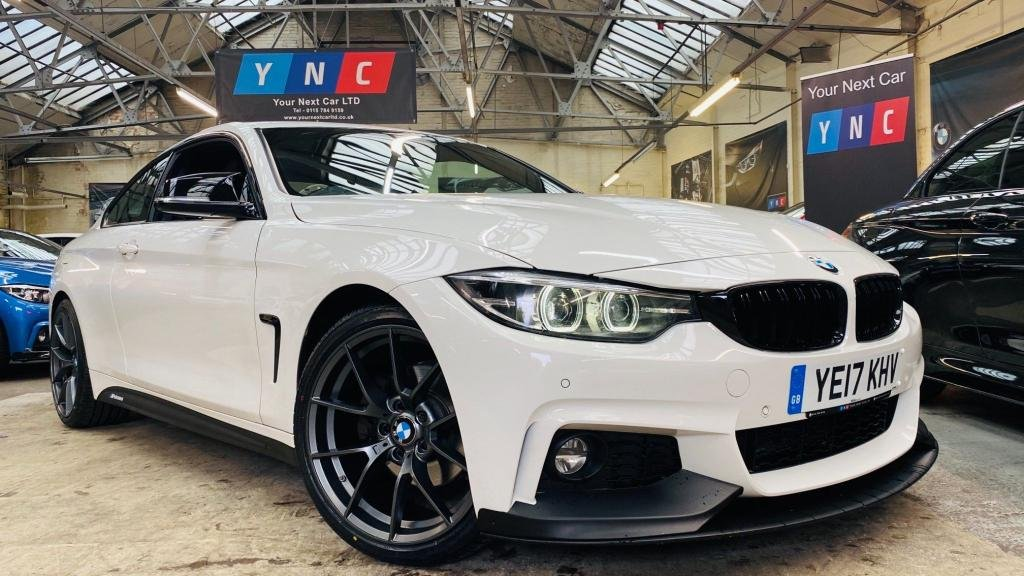 USED 2017 17 BMW 4 SERIES 2.0 420d M Sport Auto (s/s) 2dr PERFORMANCEKIT+FACELIFT+WOW