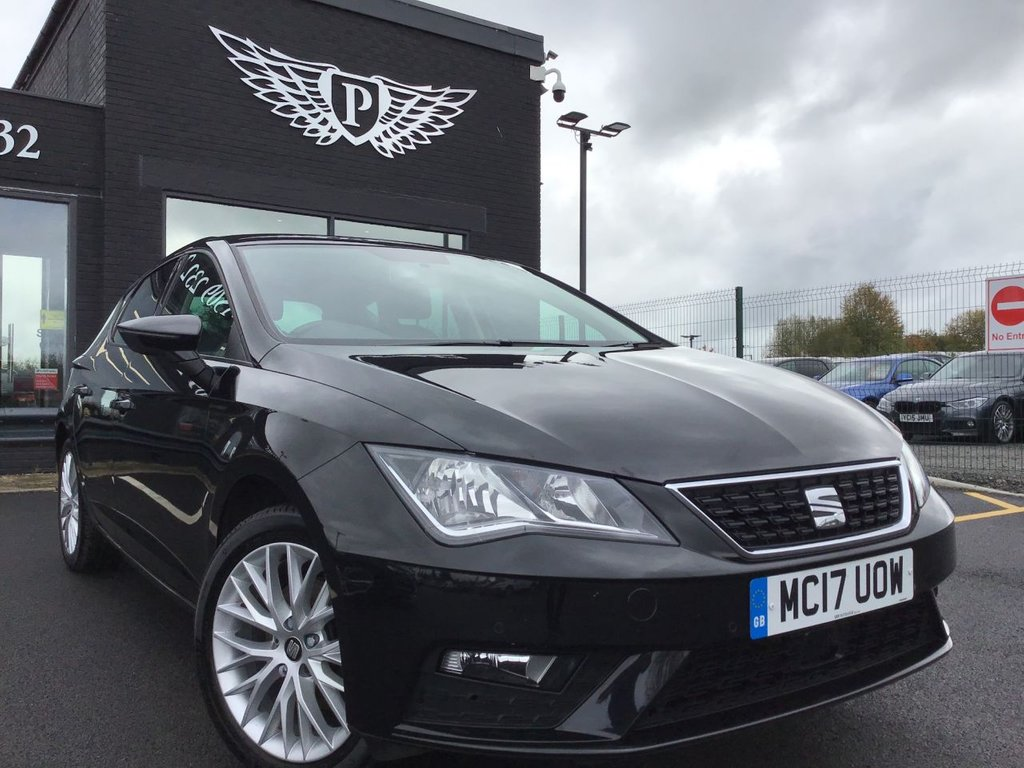USED 2017 17 SEAT LEON 1.6 TDI SE DYNAMIC TECHNOLOGY 5d 114 BHP DAB - SATNAV - PARK CAMERA