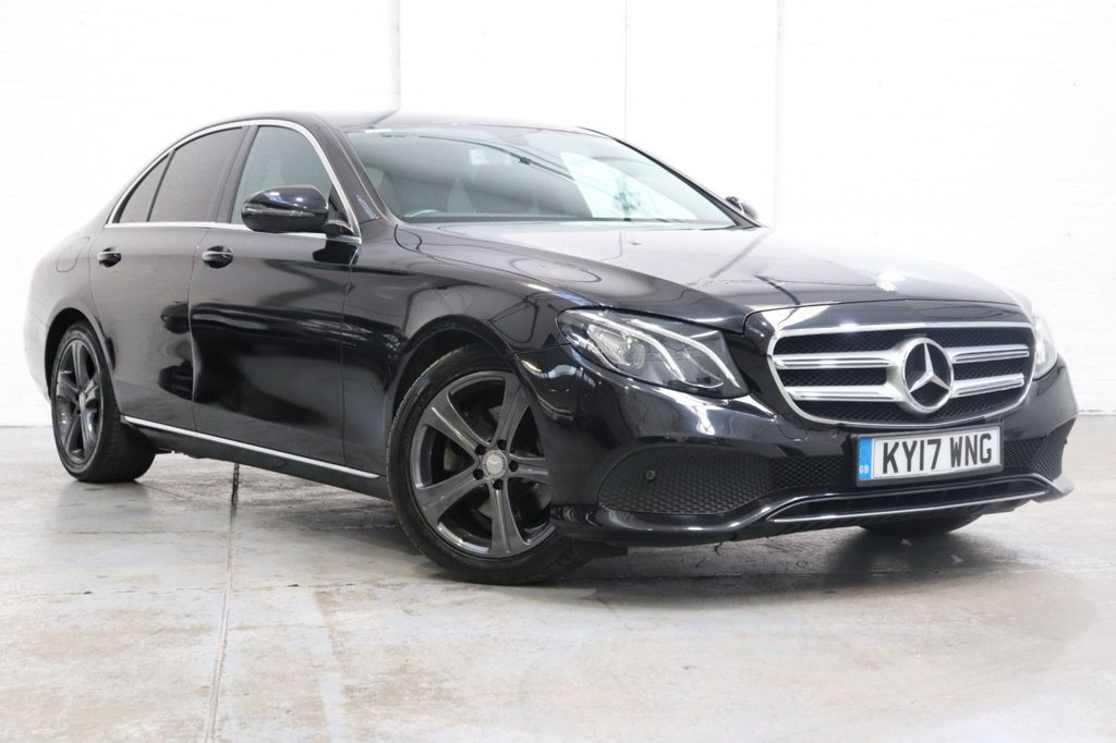 USED 2017 17 MERCEDES-BENZ E-CLASS 2.0 E 220 D SE 4d 192 BHP Leather Heated Seats + Satnav + Camera + Cruise + Fsh