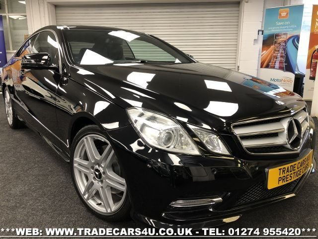 USED 2013 13 MERCEDES-BENZ E-CLASS 3.0 E350 CDI BLUEEFFICIENCY SPORT 2d 265 BHP FREE UK DELIVERY*VIDEO AVAILABLE* FINANCE ARRANGED* PART EX*HPI CLEAR
