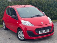 USED 2012 62 PEUGEOT 107 1.0 ACCESS 3d 68 BHP *  LOW MILEAGE *