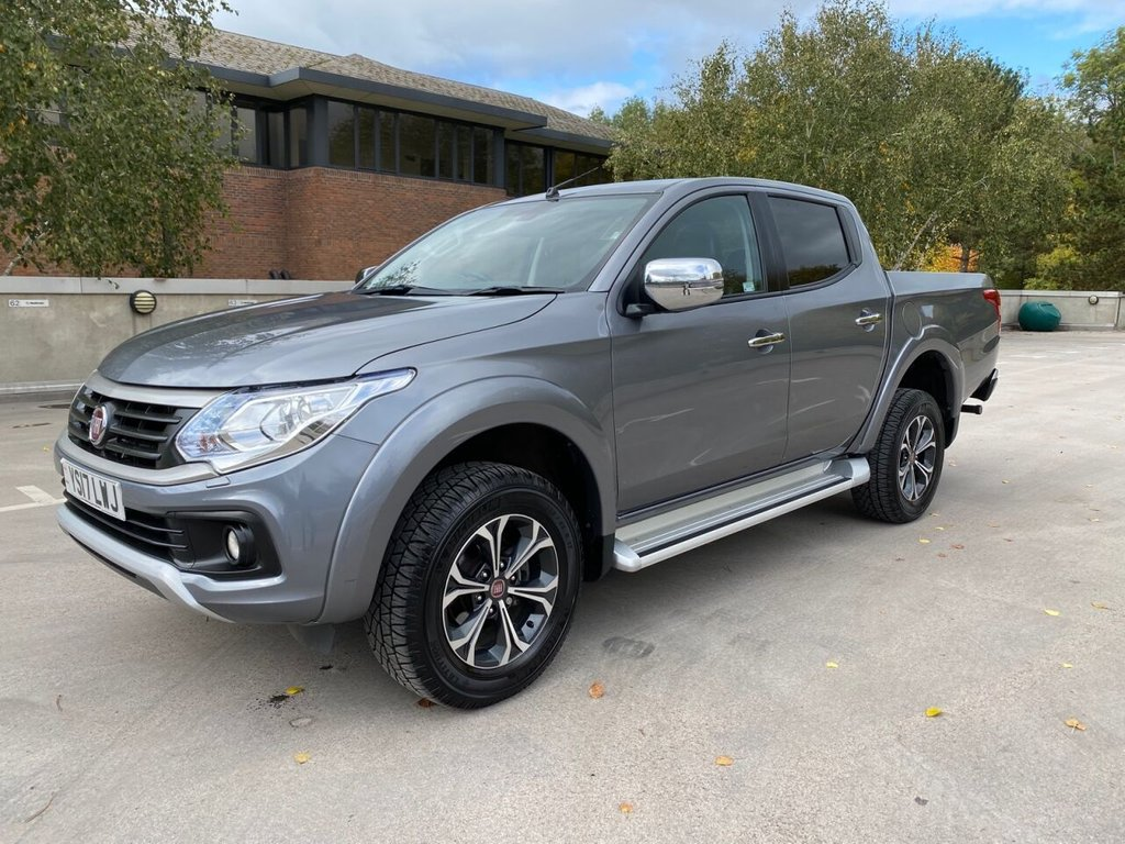 USED 2017 17 FIAT FULLBACK 2.4 LX 4x4 180ps D/Cab *AIRCON*SATNAV*LEATHER*CAMERA* EXCELLENT SPEC & CONDITION
