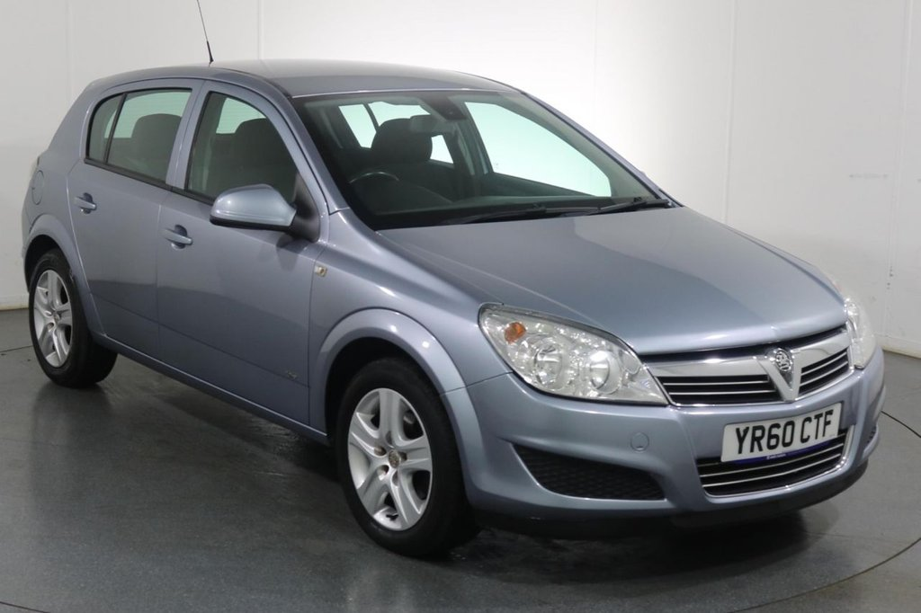 USED 2010 60 VAUXHALL ASTRA 1.6 ACTIVE 5d 115 BHP AIR CON I AUX PORT I ISOFIX SEATS
