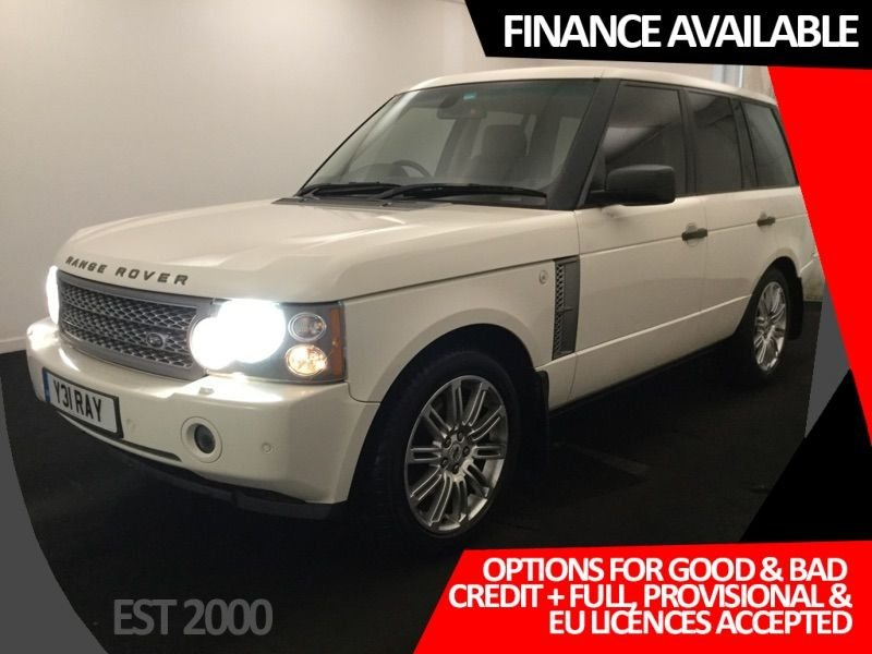 USED 2008 08 LAND ROVER RANGE ROVER 3.6 TDV8 VOGUE 5d 272 BHP * NAV * LEATHER * SUNROOF *