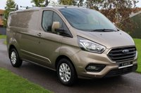 USED 2018 18 FORD TRANSIT CUSTOM 2.0 280 LIMITED P/V L1 H1 129 BHP New shape - Large screen limited model - Warranty Included