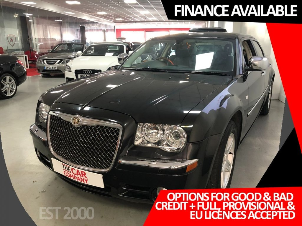 USED 2010 60 CHRYSLER 300C 3.0 CRD SR 4d 215 BHP * NAV * CLIMATE CONTROL * 7 SERVICES * LEATHER TRIM *