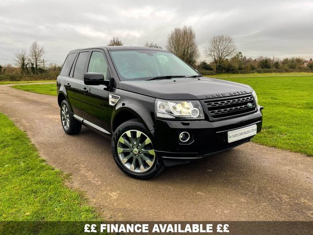 2013 63 LAND ROVER FREELANDER 2 2.2 SD4 HSE LUXURY 5d 190 BHP(FREE 2 YEAR WARRANTY)