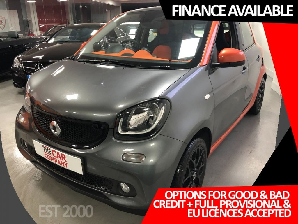USED 2015 65 SMART FORFOUR 0.9 EDITION1 T 5d 90 BHP * NAVIGATION * PAN ROOF *