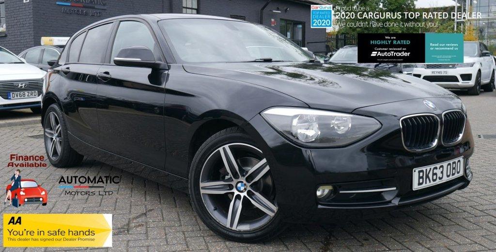 USED 2013 63 BMW 1 SERIES 2.0 116D SPORT 5d 114 BHP 2013 BMW 1 SERIES 2.0 116D SPORT  2 KEYS PARKING SENSORS