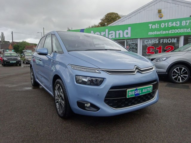 USED 2014 14 CITROEN C4 PICASSO 1.6 E-HDI AIRDREAM EXCLUSIVE PLUS ETG6 5d 113 BHP **AUTOMATIC...MPV...DIESEL...JUST ARRIVED**