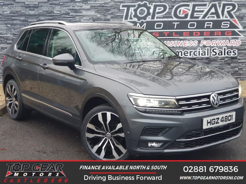 USED 2017 VOLKSWAGEN TIGUAN 2.0 SEL TDI BLUEMOTION TECHNOLOGY DSG 5d AUTO 150 BHP ** PAN SUNROOF, DSG, UPGRADED ALLOYS (OPTIONAL EXTRA) ** OVER 90 VEHICLES IN STOCK