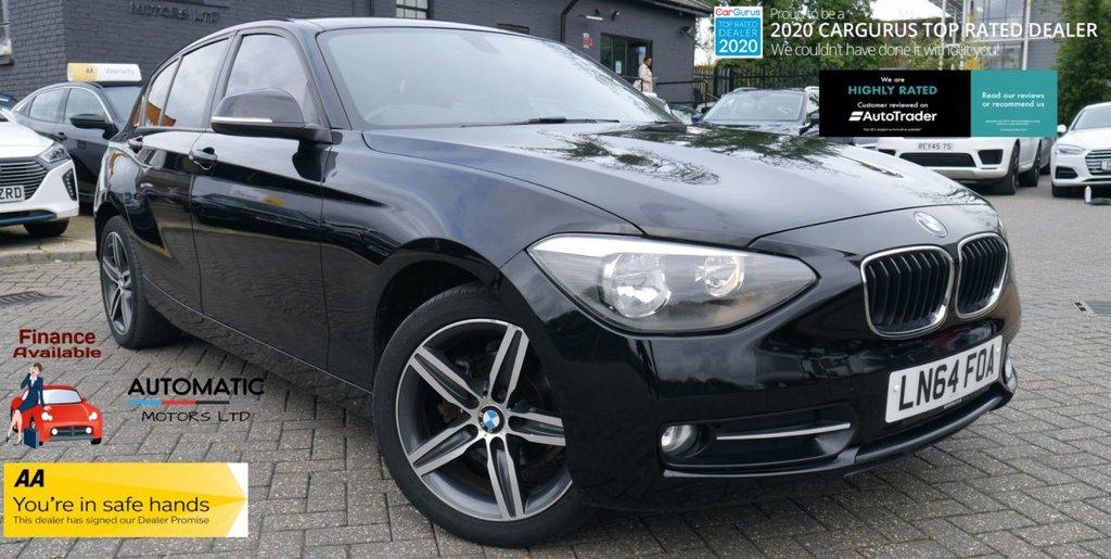 USED 2014 64 BMW 1 SERIES 1.6 116I SPORT 5d 135 BHP 2014 BMW 1 SERIES 1.6 116I SPORT NAVIGATION BLUETOOTH FINANCE M