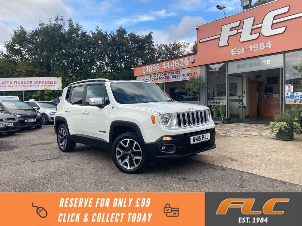 USED 2015 15 JEEP RENEGADE 2.0 M-JET OPENING EDITION 5d 138 BHP
