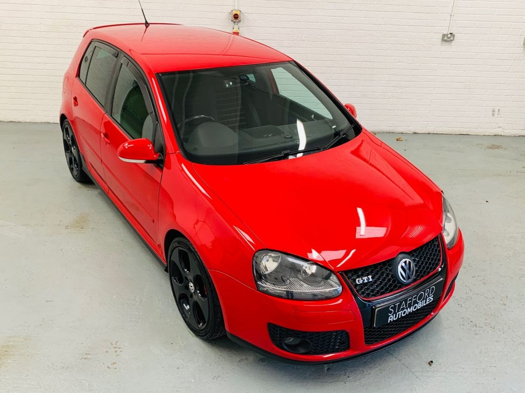USED 2007 57 VOLKSWAGEN GOLF 2.0 GTI 5d 197 BHP 18IN ALLOYS, SAT NAV.