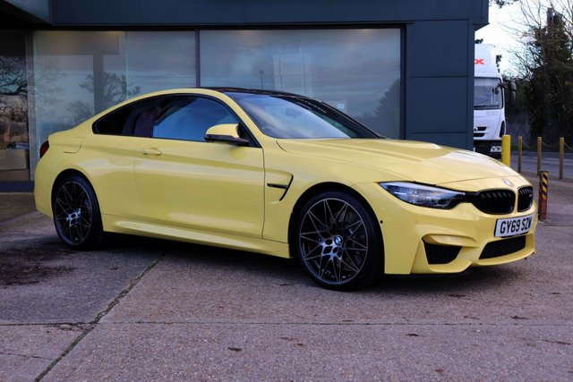 2019 69 BMW M4 3.0 M4 COMPETITION 2d 444 BHP