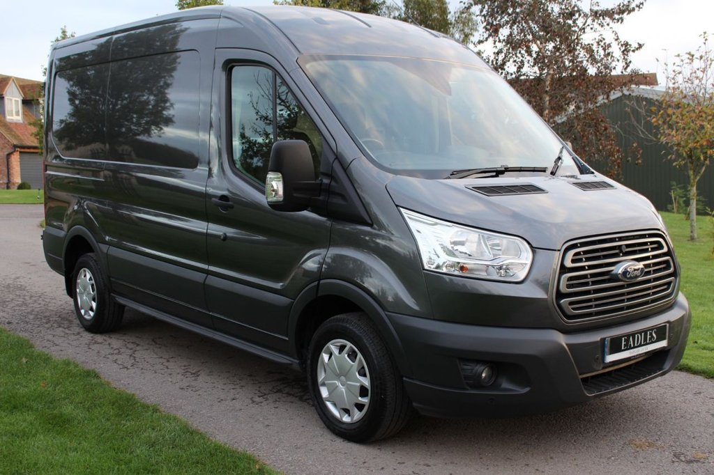 USED 2017 17 FORD TRANSIT 2.0 310 L2 H2 P/V 129 BHP NO VAT TO PAY 2017 ONLY 21K MILES WARRANTY INCLUDED 12 MONTH MOT