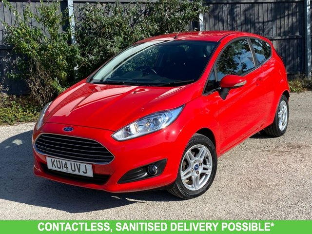 USED 2014 14 FORD FIESTA 1.0 ZETEC 3d 99 BHP ONE OWNER ** VERY LOW MILEAGE FINANCE ME TODAY-UK DELIVERY POSSIBLE