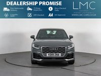 USED 2019 19 AUDI Q2 1.6 TDI S LINE 5d AUTO 114 BHP HALF LEATHER- REAR SENSORS -SAT NAV