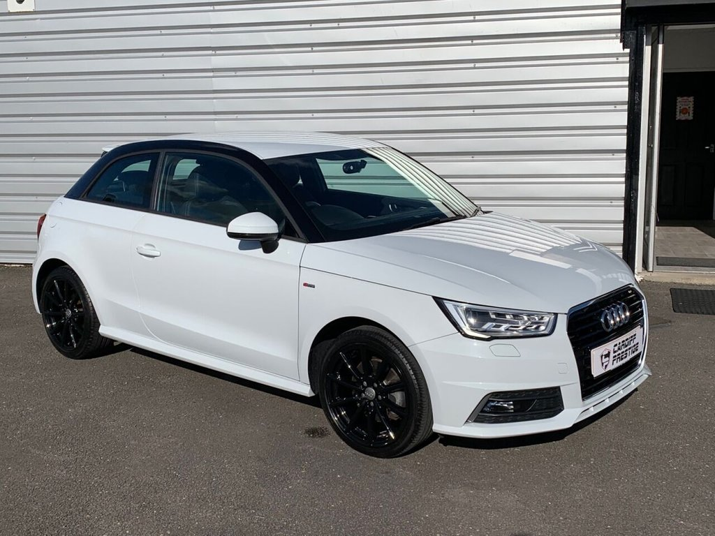 USED 2017 17 AUDI A1 1.4 TFSI S-LINE LOW MILEAGE 1 OWNER CAR