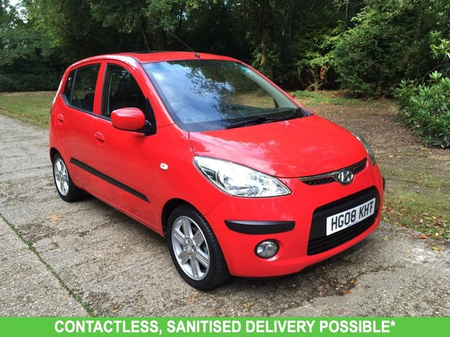 USED 2008 08 HYUNDAI I10 1.1 STYLE 5d 65 BHP VERY LOW MILEAGE FINANCE ME TODAY-UK DELIVERY POSSIBLE