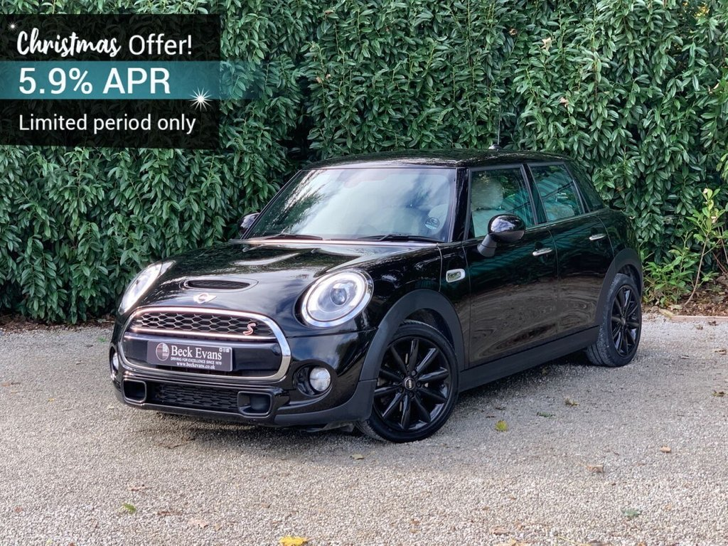 USED 2017 67 MINI HATCH COOPER 2.0 COOPER S 5d 189 BHP FULL LEATHER JCW PACK OVER 8000 OPTIONS