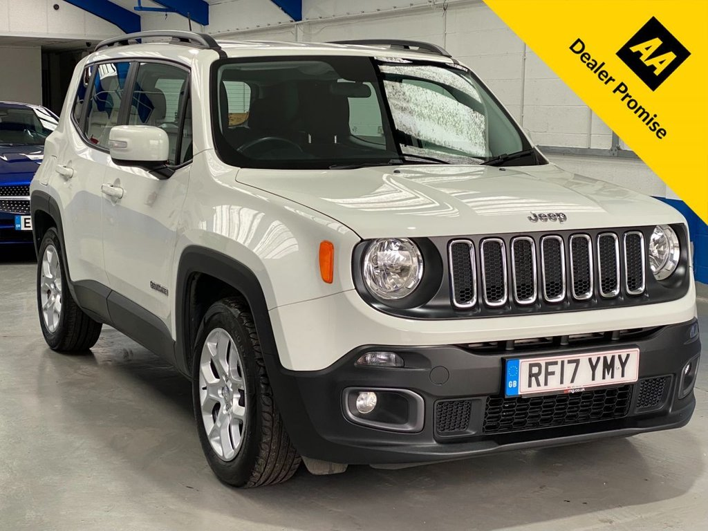 USED 2017 17 JEEP RENEGADE 1.4 LONGITUDE 5d 138 BHP *FULL DEALER HISTORY**1 OWNER*