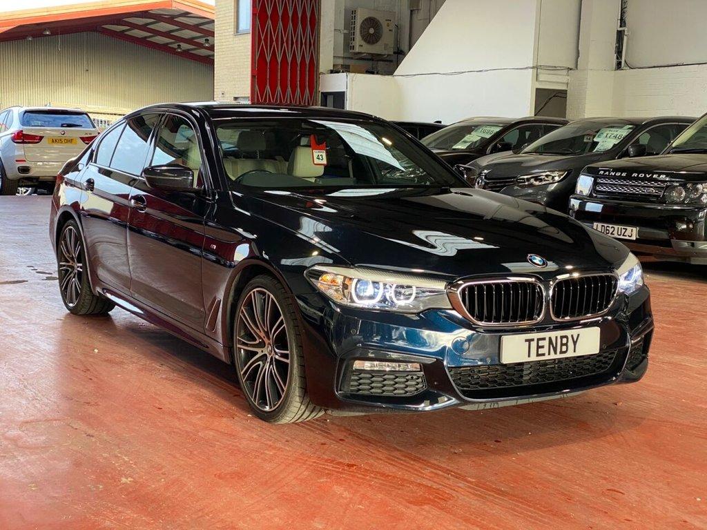USED 2017 BMW 5 SERIES 3.0 530D M SPORT 4d AUTO 261 BHP