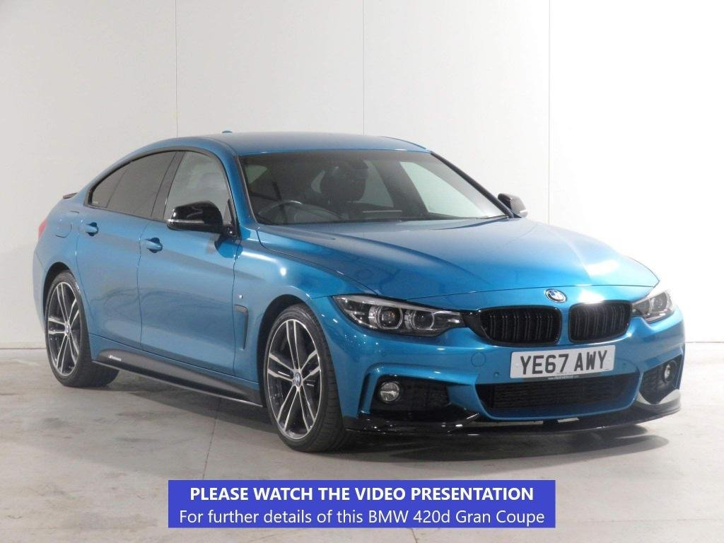 USED 2017 67 BMW 4 SERIES GRAN COUPE 2.0 420d M Sport Gran Coupe Auto (s/s) 5dr £6,170 EXTRA*COMFORT & PLUS PK