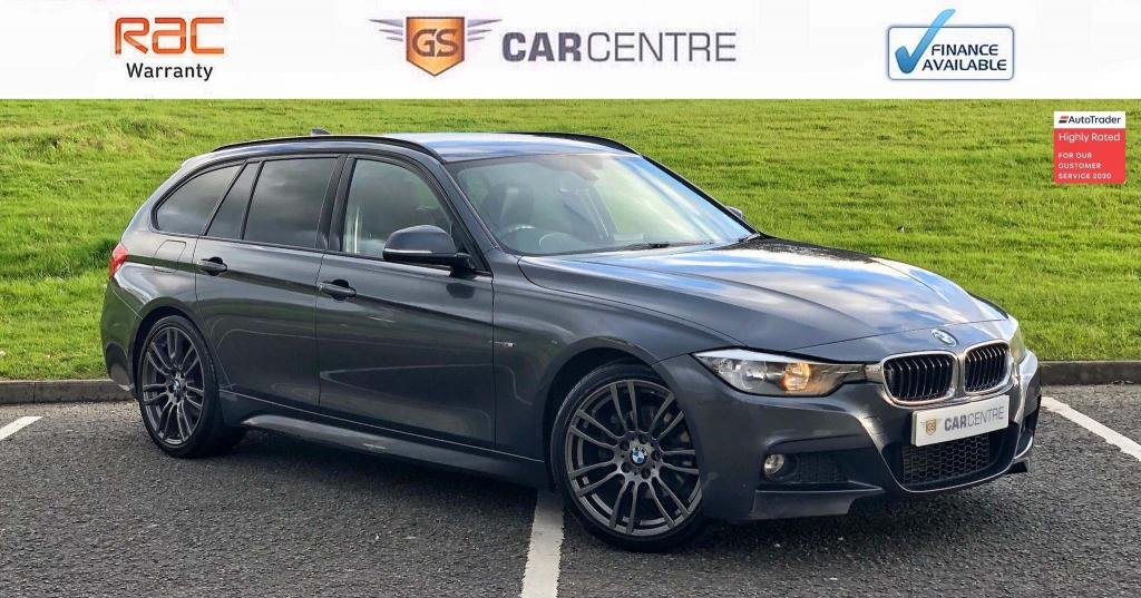 USED 2015 64 BMW 3 SERIES 2.0 320d BluePerformance M Sport Touring (s/s) 5dr Sat Nav + Leather + Cruise