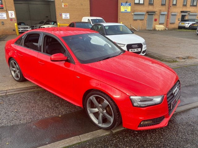 2015 64 AUDI A4 2.0L TDI BLACK EDITION 4d 148 BHP SOLD TO  GRAHAM FROM SHEFFIELD