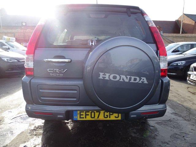 USED 2007 07 HONDA CR-V 2.2 I-CTDI EXECUTIVE 5d 138 BHP FULL LEATHER
