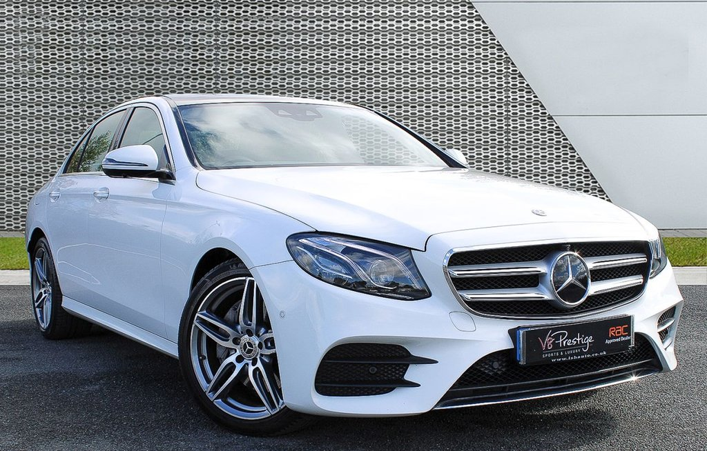 USED 2017 67 MERCEDES-BENZ E-CLASS 3.0 E 350 D AMG LINE PREMIUM PLUS 4d 255 BHP **PAN ROOF/AMG PLUS PACKAGE**