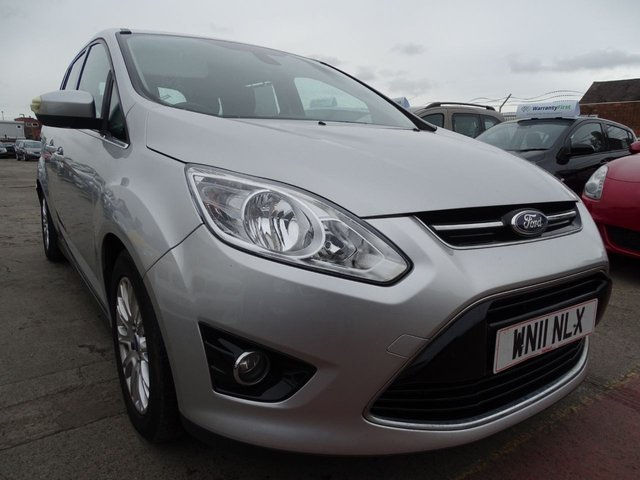 USED 2011 11 FORD GRAND C-MAX 1.6 TITANIUM TDCI 5d 114 BHP 7 SEATER GREAT SPEC