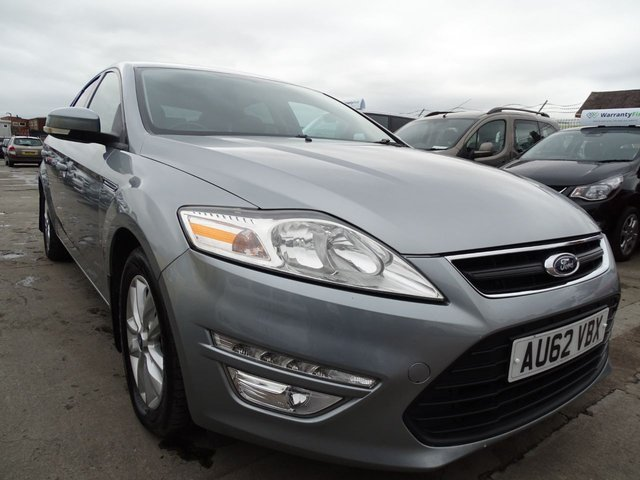 USED 2012 62 FORD MONDEO 2.0 ZETEC TDCI 5d 161 BHP AUTOMATIC DRIVES A1