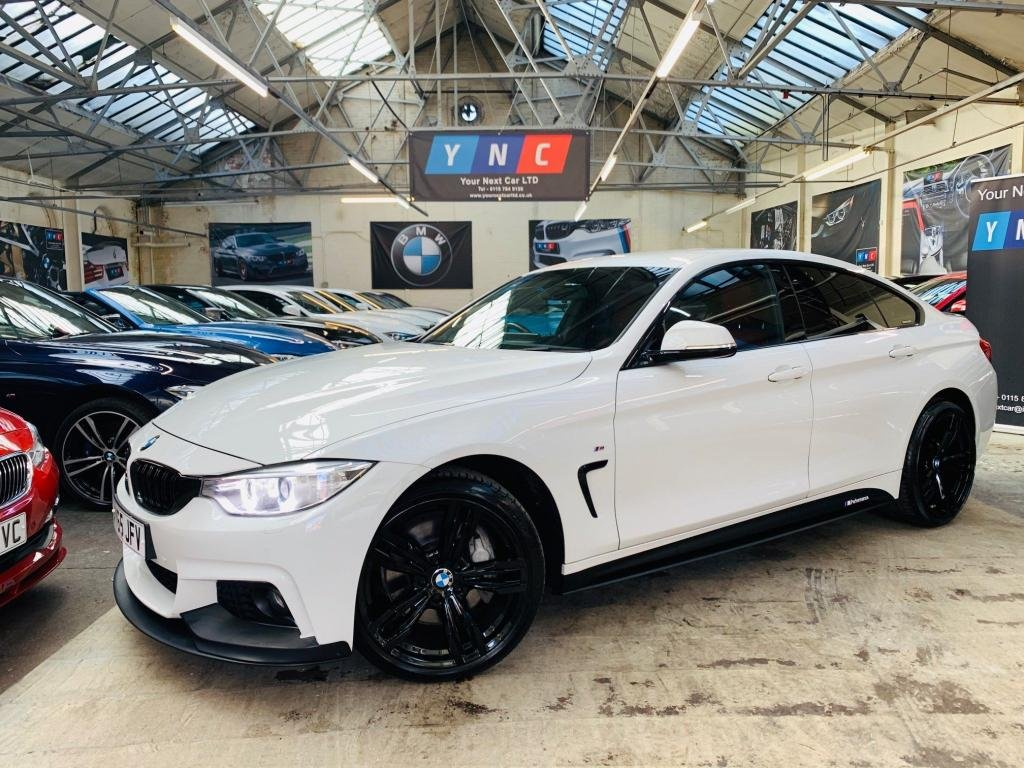 USED 2015 65 BMW 4 SERIES 3.0 435d M Sport Gran Coupe xDrive 5dr PERFORMANCE KIT 19S RED LTHR!