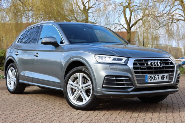 USED 2017 67 AUDI Q5 2.0 TDI S line S Tronic quattro (s/s) 5dr 1 OWNR Fully AUDI serviced 4X4