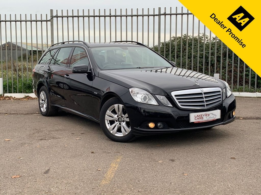 USED 2011 61 MERCEDES-BENZ E-CLASS 2.1 E220 CDI BLUEEFFICIENCY SE EDITION 125 5d 170 BHP