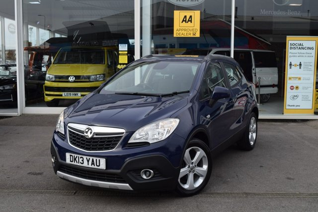 USED 2013 13 VAUXHALL MOKKA 1.7 EXCLUSIV CDTI S/S 5d 128 BHP FINANCE TODAY WITH NO DEPOSIT - SERVICE HISTORY