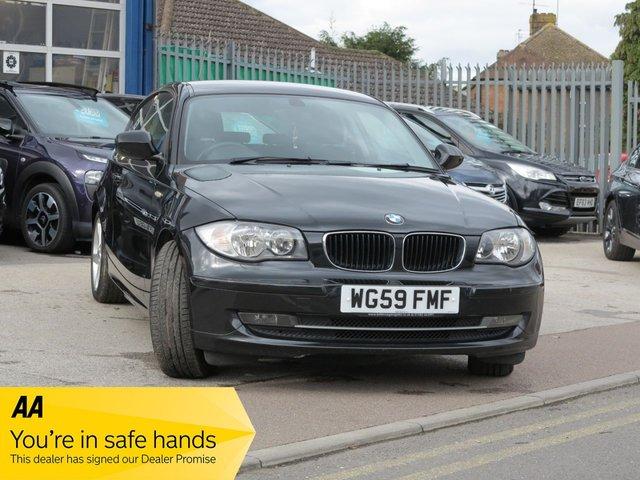 USED 2010 59 BMW 1 SERIES 2.0 118D SPORT 3d 141 BHP