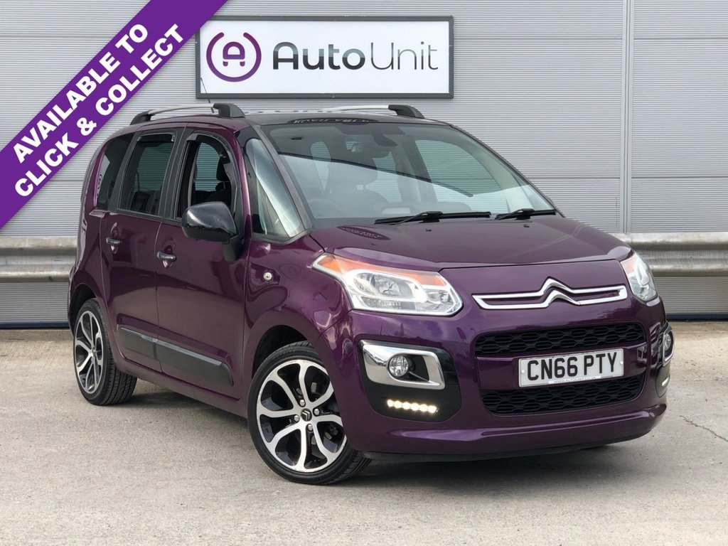 USED 2016 66 CITROEN C3 PICASSO 1.6 BLUEHDI PLATINUM PICASSO 5d 98 BHP JUST SERVICED + PAN ROOF + USB + CRUISE CONTROL & SPEED LIMITER