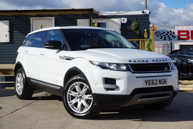 USED 2013 62 LAND ROVER RANGE ROVER EVOQUE 2.2 SD4 PURE TECH 5d 190 BHP PAN ROOF, GOOD SPEC, CLEAN EXAMPLE